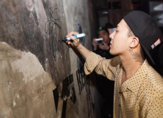 """Big Bang's G-Dragon & 2NE1's Sandara Park Made A Special Appearance At YG Republique Kuala Lumpur After His World Tour """"ACT III, M.O.T.T.E."""" Yesterday-Pamper.my"""