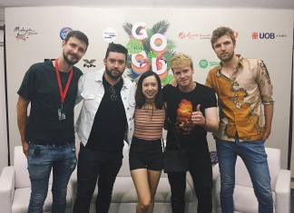 #QuickChatwithPamper: Meeting Kodaline At the Good Vibes Festival 2017-Pamper.my