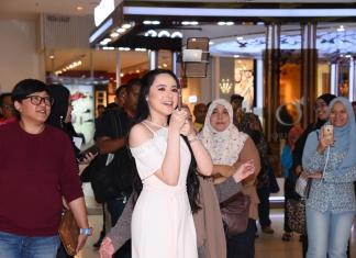 #Scenes: Popular Young Actress, Hannah Delisha Shares About Guerisson's New Red Ginseng Series To Her Fans At Sasa, IOI City Mall Putrajaya-Pamper.my