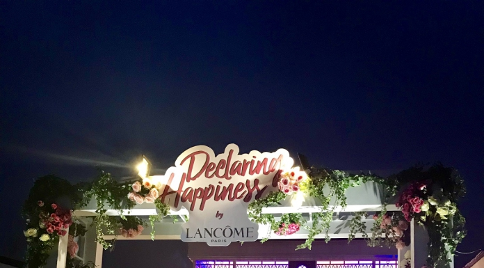 #Scenes: Declaring Happiness With Lancome-Pamper.my