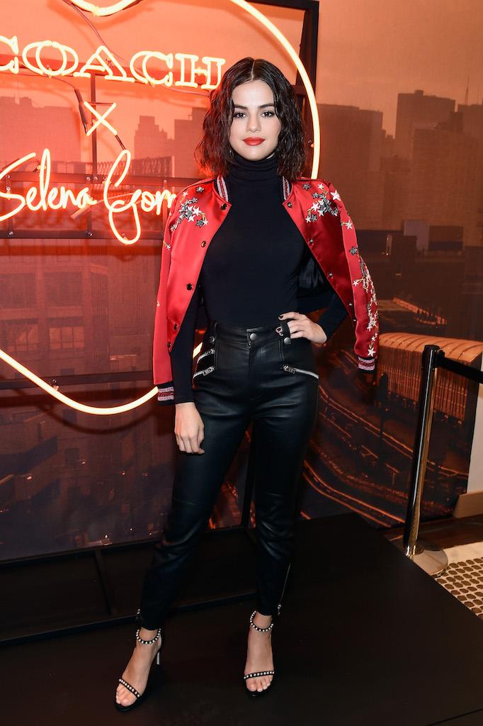 Selena gomez celebrates the coach x selena gomez collection at coach house in - Selena gomez boutique ...