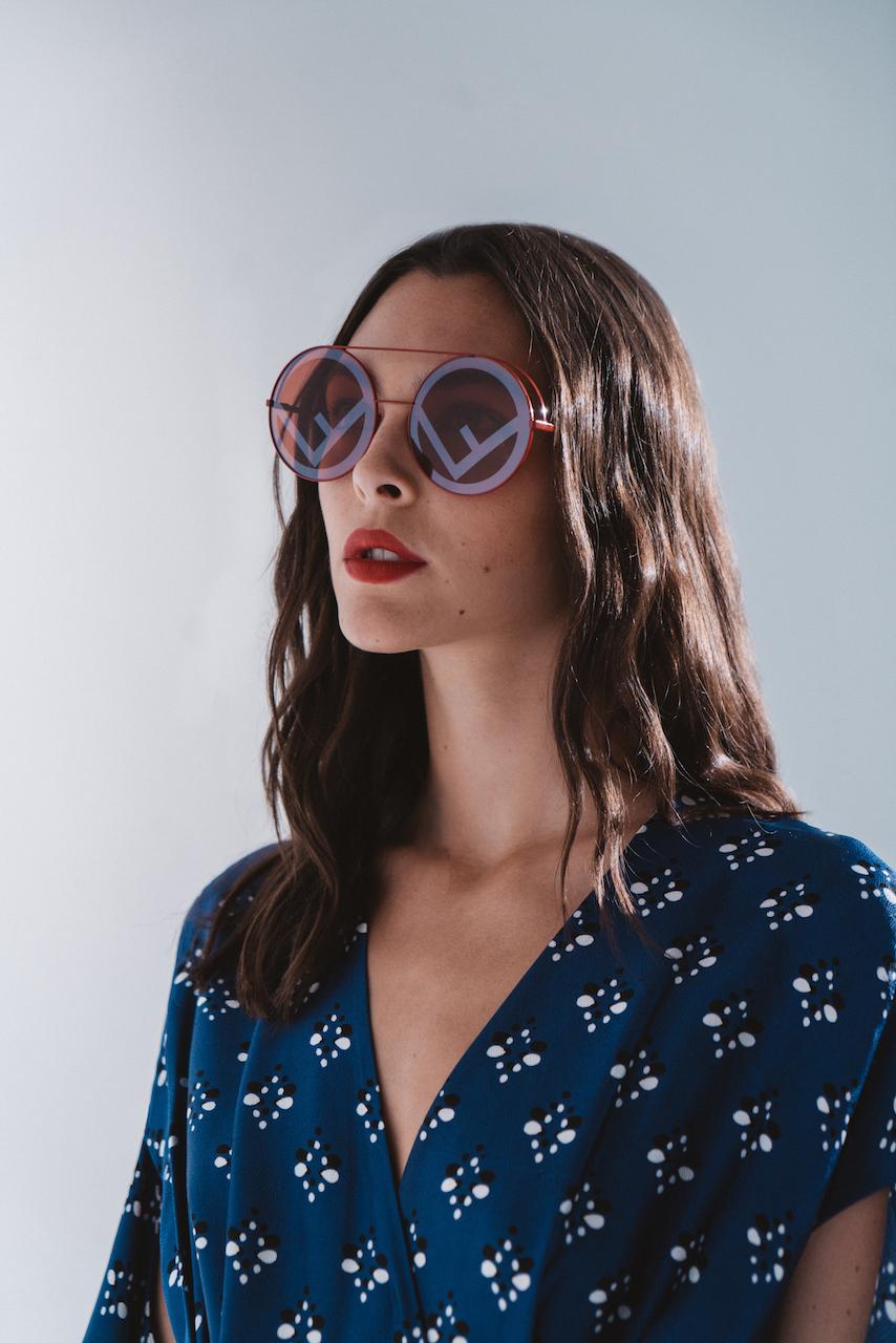 Run Away sunglasses - Red Fendi 5chdg