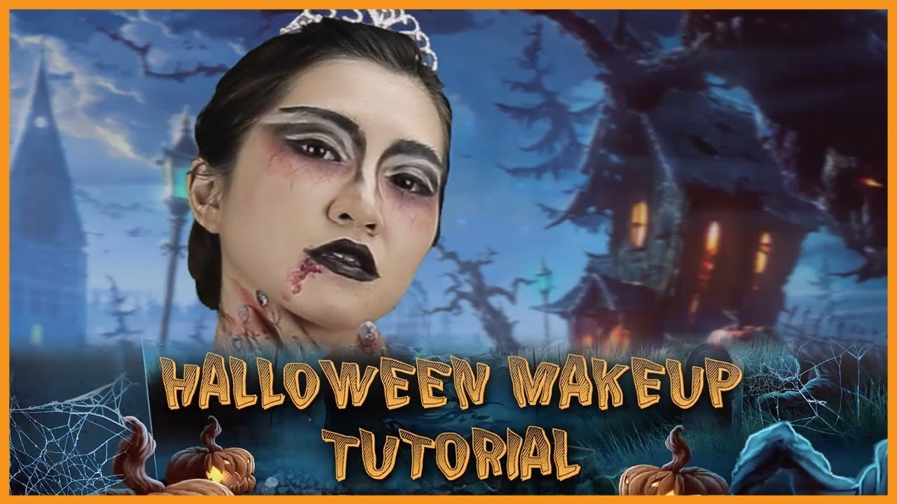 Boo! Pirouette To This Black Swan Halloween Makeup ...