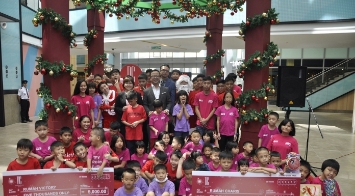 """DC Mall Brought """"The Joy Of Giving"""" This Christmas-Pamper.my"""