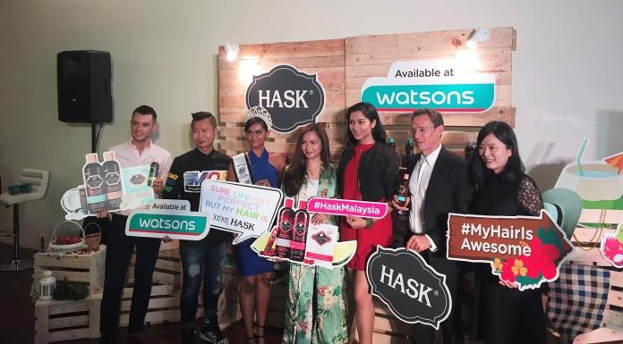 #Scenes: Hollywood Famous Hair Care Brand, Hask Is Now Available In Watsons Malaysis Stores!-Pamper.my