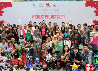 Nu Skin Malaysia Fulfilled More Than 500 Children's Christmas Wishes For Nu Skin Malaysia Wish List Project 2017-Pamper.my