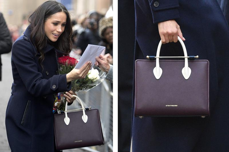 92432f7a7311 meghan markle s sell-out midi tote is going on for auction ...