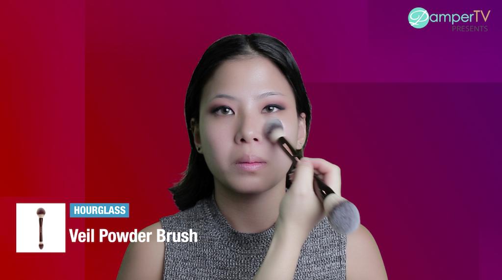 #PamperMyBeauty2018 - Western Makeup Look-HOURGLASS Veil Powder Brush