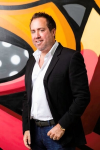 Chris Barish, the owner of Black Tap Craft Burgers & Beer